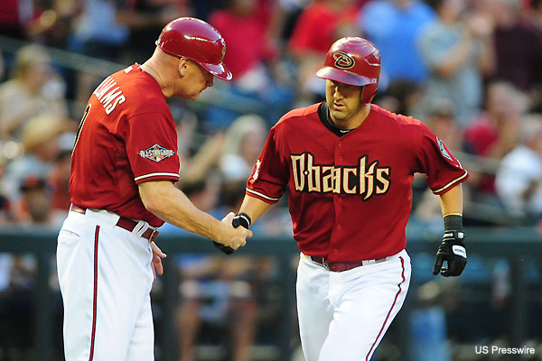 Willie Bloomquist becomes an unlikely home run hero