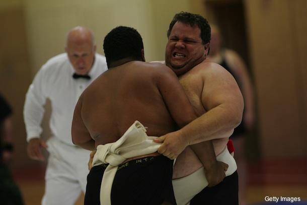 Sumo wrestler becomes heaviest man to ever finish marathon