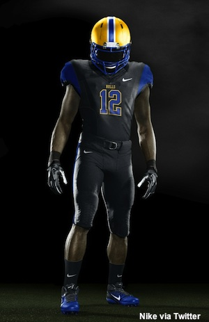 Miami Northwestern Nike Pro Combat uniform
