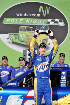 'Fast cars go fast': Brad Keselowski and the Zen of speed