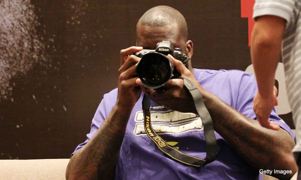 Create-a-Caption: I always feel like Shaquille is watching me
