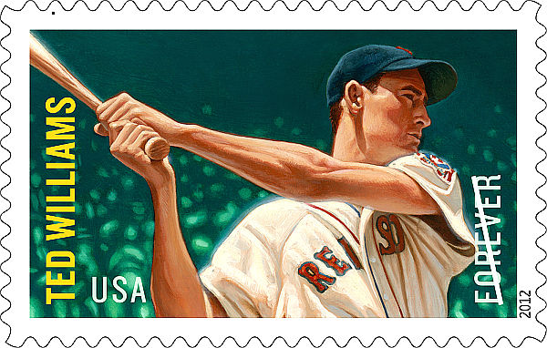 Splendid: Post office unveils Ted Williams' own U.S. stamp