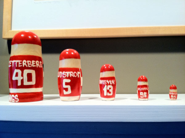 The Red Wings matryoshka doll is the new Russian Five