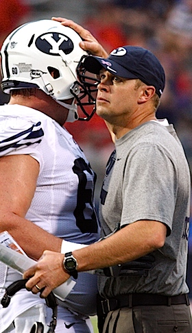 Bronco Mendehall would rather 'stand alone' then cave to a conference that doesn't accept BYU's faith