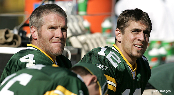 Favre on Rodgers: 'He fell into a good situation'