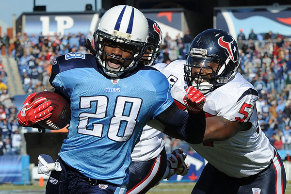 'Nothing has changed' in Chris Johnson's staredown with Titans