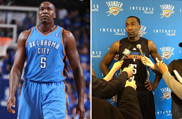 Kendrick Perkins drops 32 pounds, bucking the lockout trend