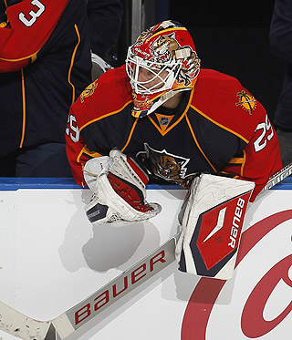 Vokoun won't play vs. Florida because he's a paid employee