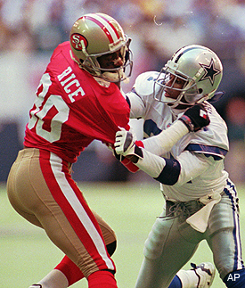 Voices of the Hall: Jerry Rice on Deion Sanders