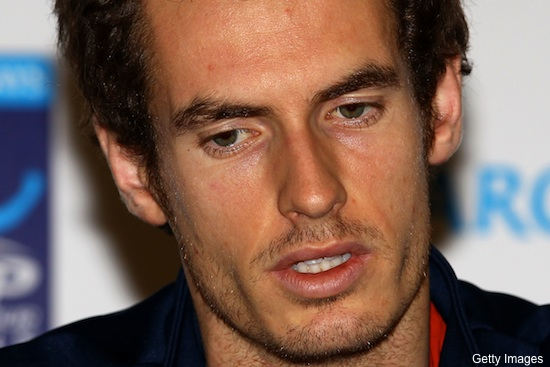 Andy Murray held a press conference. Guess how it went.