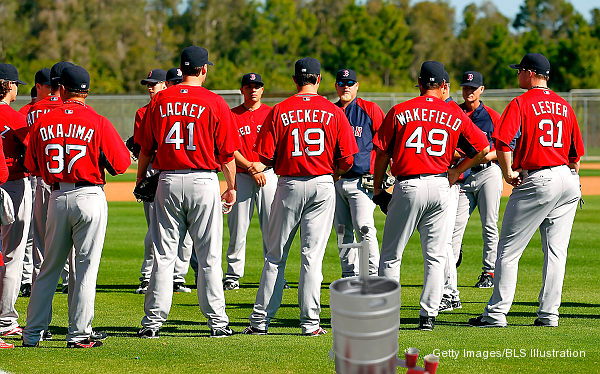 Red Sox deny report Beckett, Lackey, Lester drank beer in dugout
