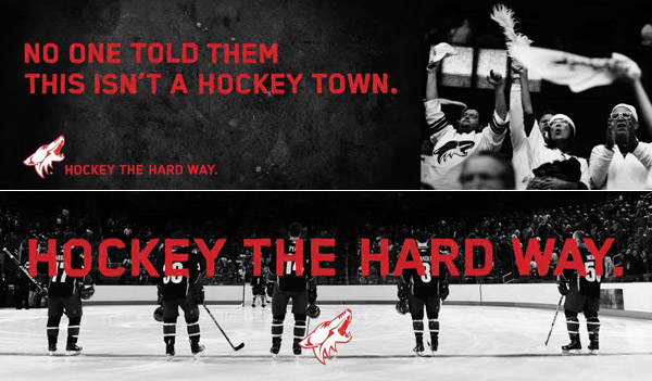 Behind the boldest ad campaign in the NHL this season