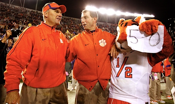 Don't look now, but Clemson may have just turned a corner toward the ACC penthouse