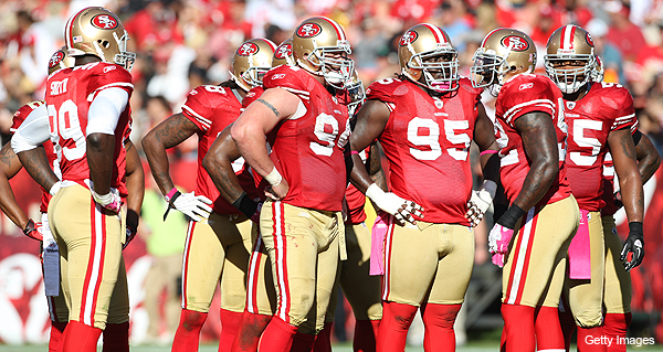 49ers run defense putting up historical beatdowns