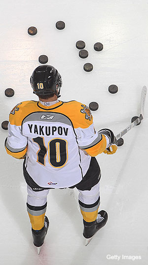Puck Daddy chats with Nail Yakupov about being No. 1  prospect in 2012 NHL Draft, the Russian Factor, the KHL and his hockey idols
