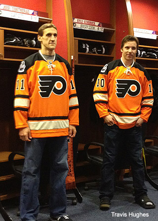 Pass or Fail: Philadelphia Flyers 2012 NHL Winter Classic jerseys