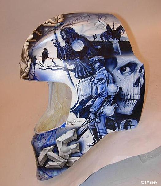 Behold Steve Mason's gruesome new 'Evil Dead' Civil War mask