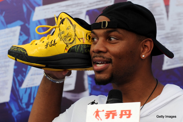 Create-a-Caption: Chuck Hayes learns the Secret of the Shoes