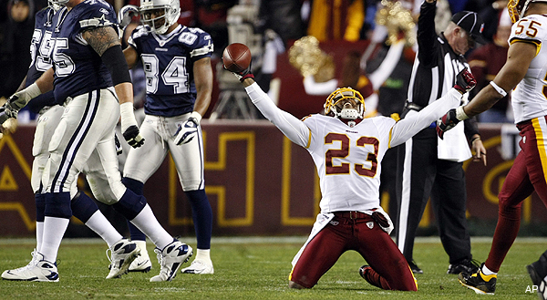 DeAngelo Hall says it outright — Tony Romo's ribs will be a target