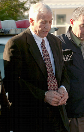The first Sandusky suit has been filed against Penn State