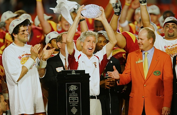 BCS formally declares '04 USC Trojans football's first former champs