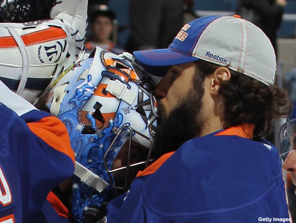 Islanders are gonna need to get that goalie curse looked at