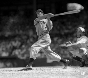 Joe DiMaggio's 56-game hit streak ended 70 years ago Sunday