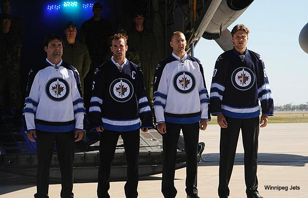 Pass or Fail: The home and away jerseys for the Winnipeg Jets