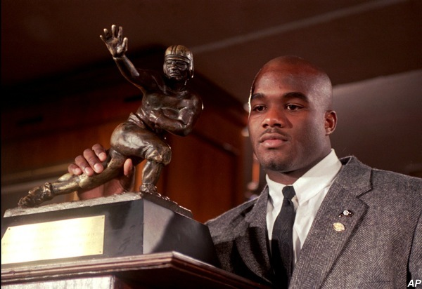 Rashaan Salaam is auctioning off his Heisman ring