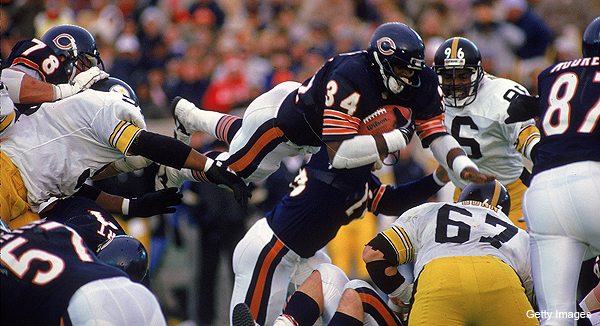 From 'Sweetness' – How Walter Payton learned to run hard