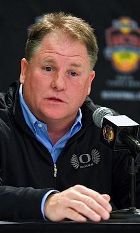 Oregon's overpriced 'scout' hangs Chip Kelly out to dry
