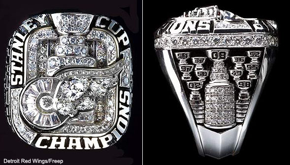 How do Boston Bruins' Stanley Cup rings compare to other champs?