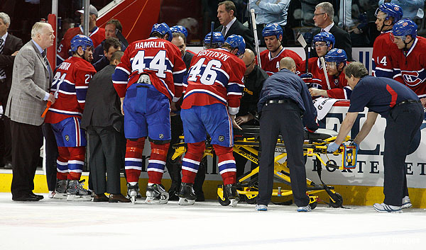 NHL tests curved glass to prevent Pacioretty-like injuries