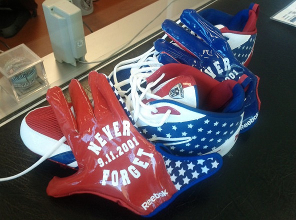 NFL players may be fined for wearing unauthorized 9/11 tribute gear