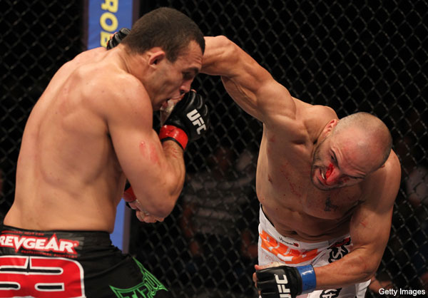 Nedkov shows off scary power in UFC 134 slugfest against Cane
