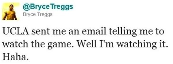 St. John Bosco receiver Bryce Treggs UCLA tweet