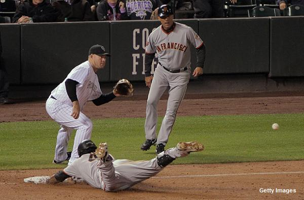 Panda on the loose! Sandoval hits for cycle at Coors Field