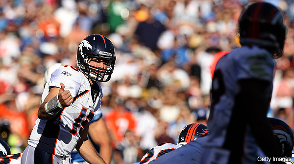 Yes, he did it again: Tebow's Broncos come up with another miracle finish