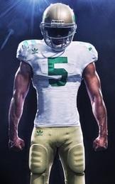 Michigan, Notre Dame 'retro' uniforms are finally unveiled