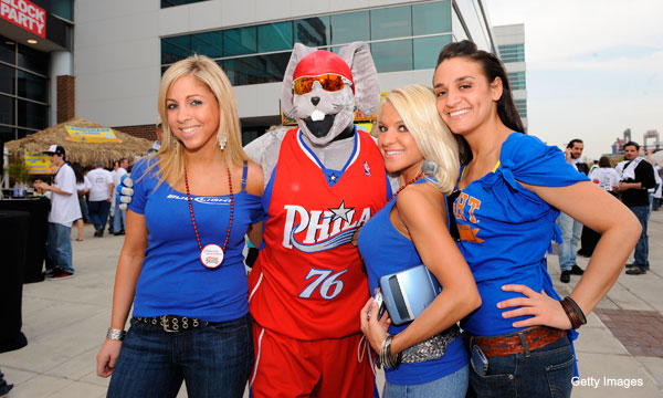 The Philadelphia 76ers are looking for a new mascot, thankfully