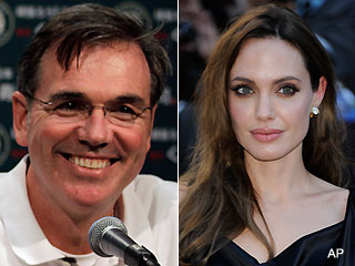 Billy Beane's SABR skills fail him during kiss with Angelina Jolie