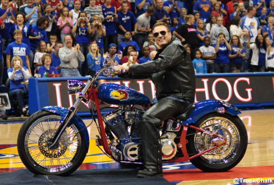 Best of Midnight Madness: Bill Self and his custom motorcycle