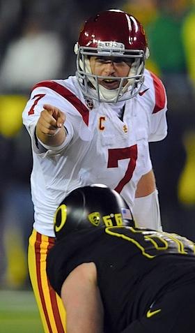 Suddenly surging, USC braces for the last temptation of Matt Barkley