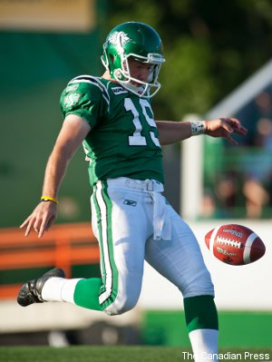 Video: Chris Milo's 108-yard punt ties CFL record