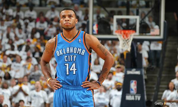 Days of NBA Lives: Wherein Daequan Cook is the Thunder tagalong