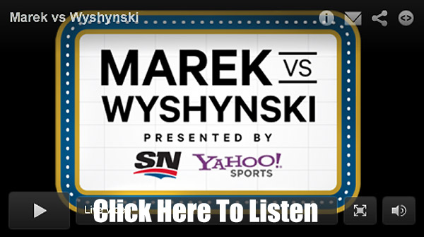 Marek Vs. Wyshynski Radio: Game Show Friday, GM fight club