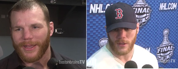Why the NHL told Shawn Thornton to ditch Red Sox hat