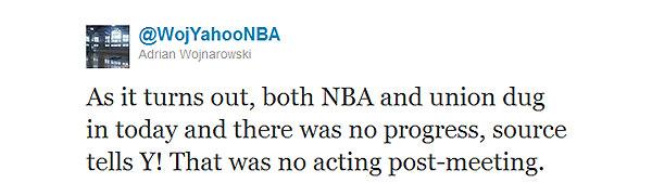 How did today's NBA season-saving session go?