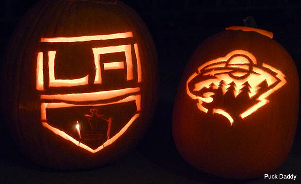 Hockey Halloween: Outrageous costumes, awesome puck pumpkins