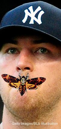 Mothball! Yankees' Hughes blames Fenway moth for key walk